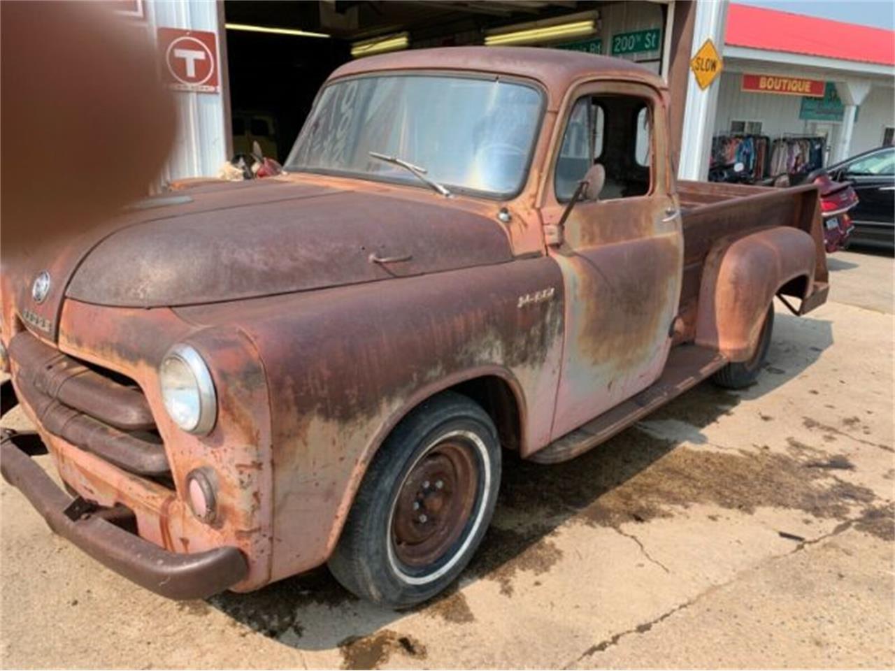 1955 Dodge Pickup For Sale In Cadillac Mi Classiccarsbay Com