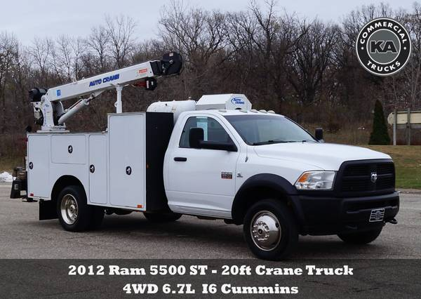 2018 Ford F550 XL - 9ft Flatbed - 4WD 6.7L V8 Utility Dump Box Truck... for sale in Dassel, MT – photo 7