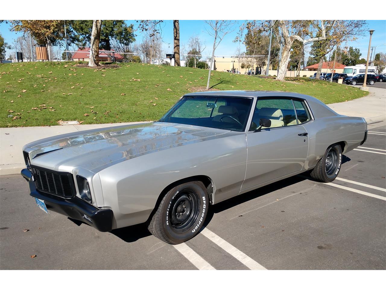 1971 Chevrolet Monte Carlo For Sale In Placentia Ca Classiccarsbay Com