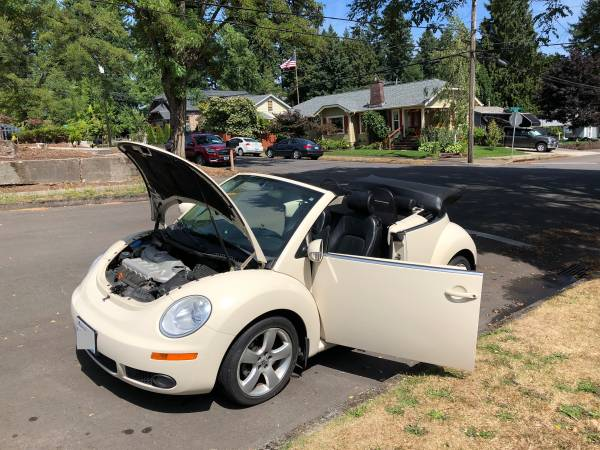 2006 VW Bug Convertible Volkswagen Beetle for sale in Fairview, OR – photo 6
