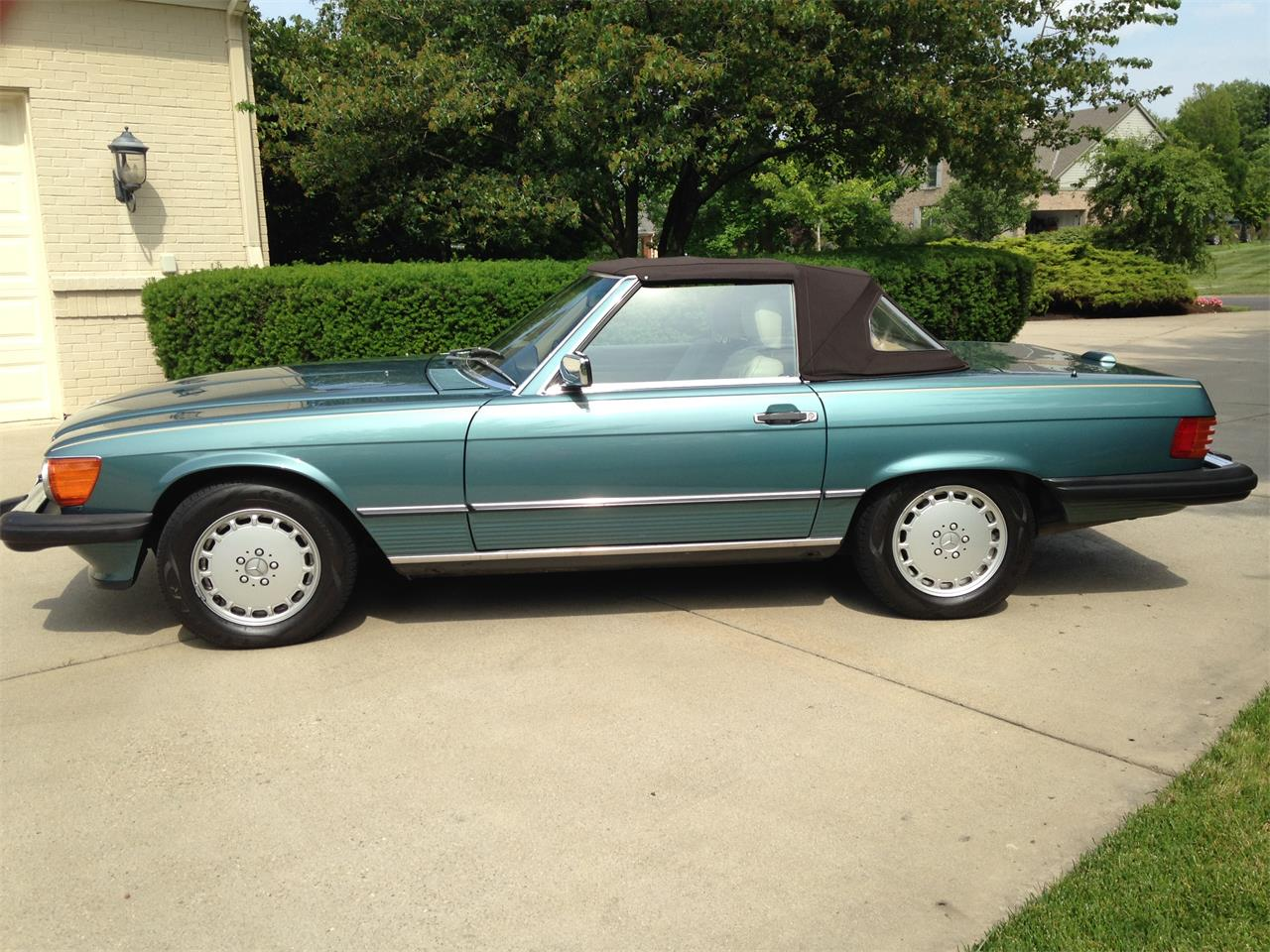 1989 Mercedes-Benz 560SL for sale in Mason, OH