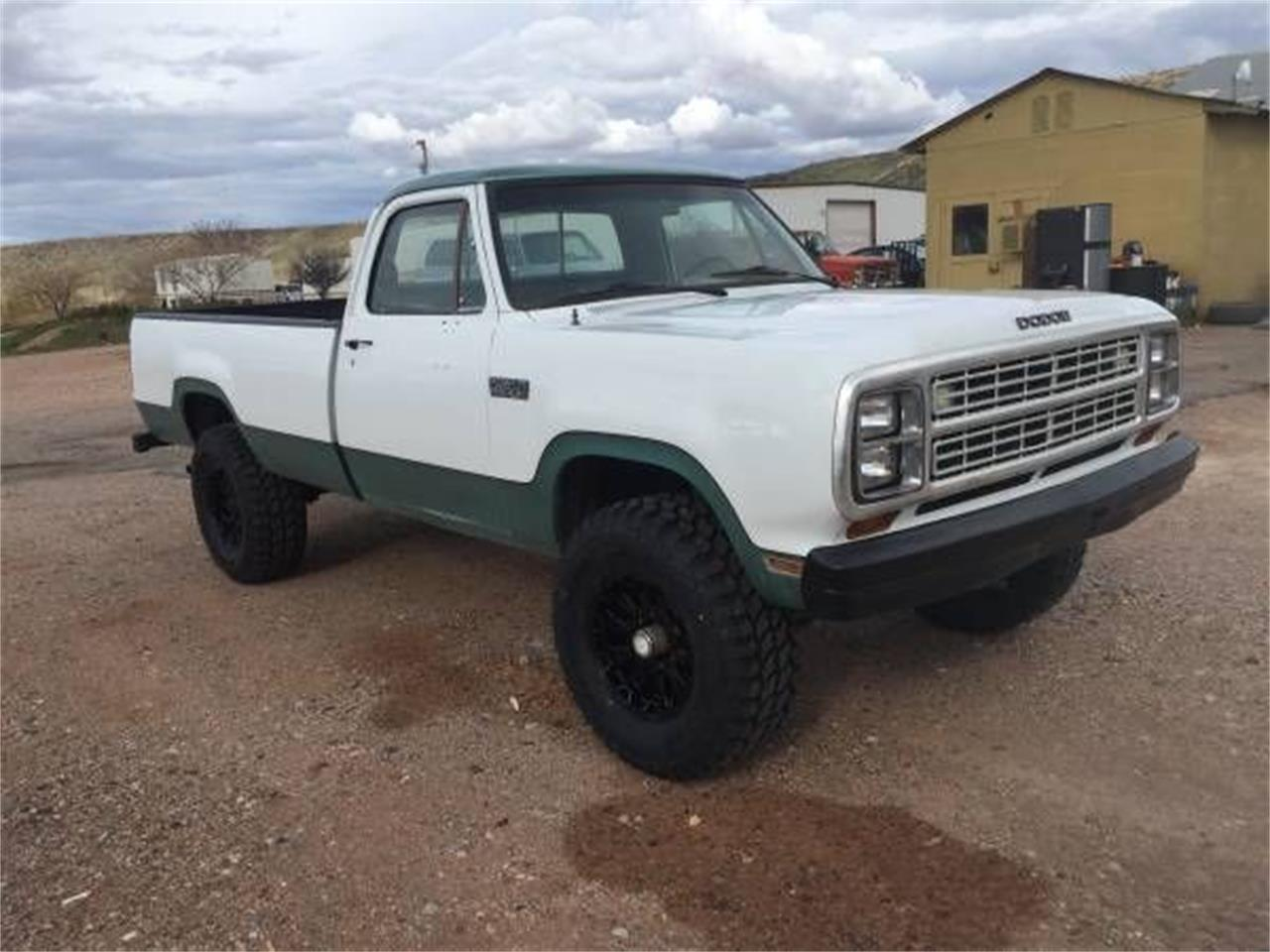 1980 Dodge Power Wagon for sale in Cadillac, MI