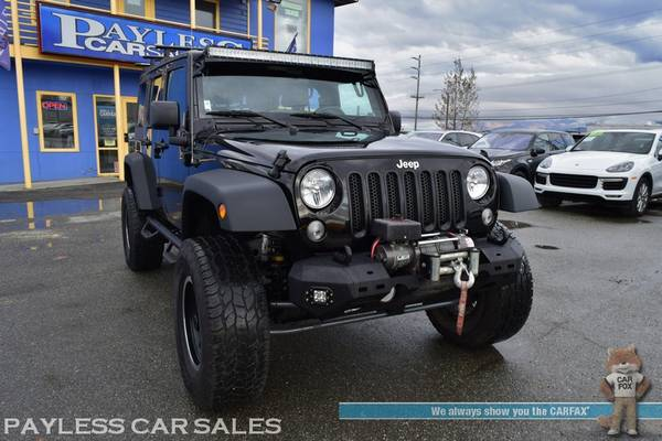 2017 Jeep Wrangler Unlimited Sport / 4X4 / Automatic / Hard Top / Lift for sale in Anchorage, AK – photo 8