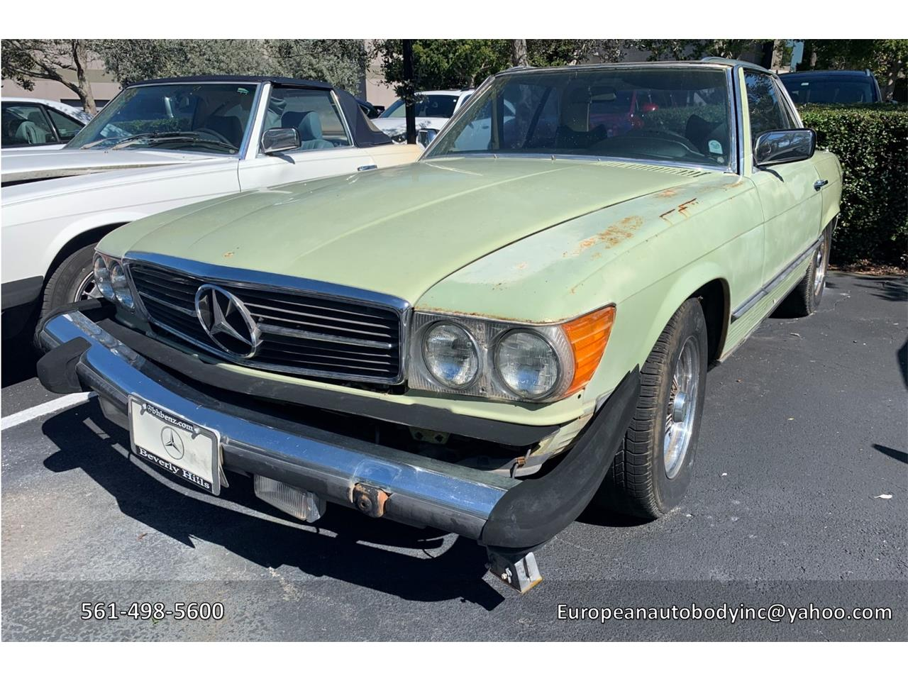 1977 Mercedes-Benz 450SL for sale in Boca Raton, FL