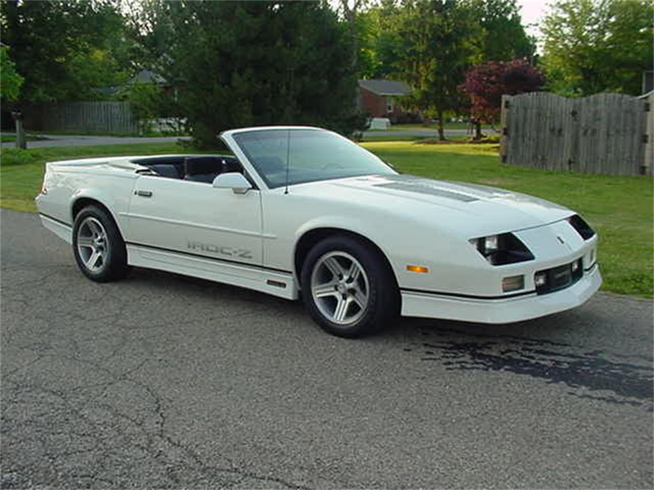 1989 Chevrolet Camaro IROC-Z for sale in Milford, OH – photo 33