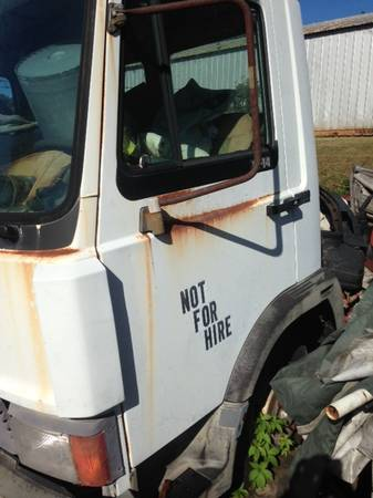 IVECO 1989 ROLLBACK PROJECT CHEVRON 20 ft ALUMINUM BED AND SPARE TRUCK for sale in Athens, GA – photo 8