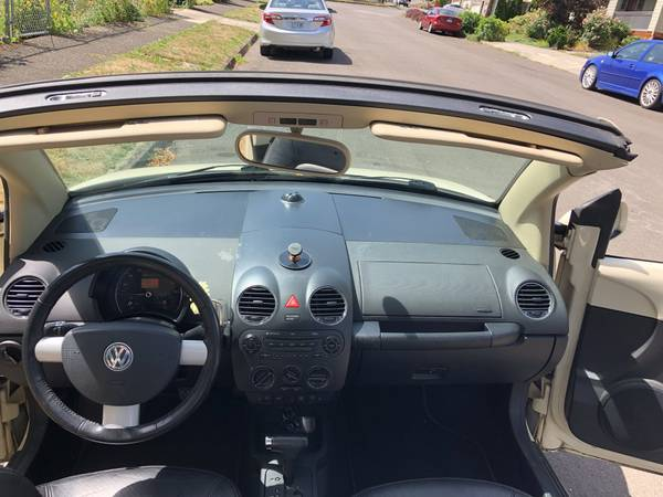 2006 VW Bug Convertible Volkswagen Beetle for sale in Fairview, OR – photo 13