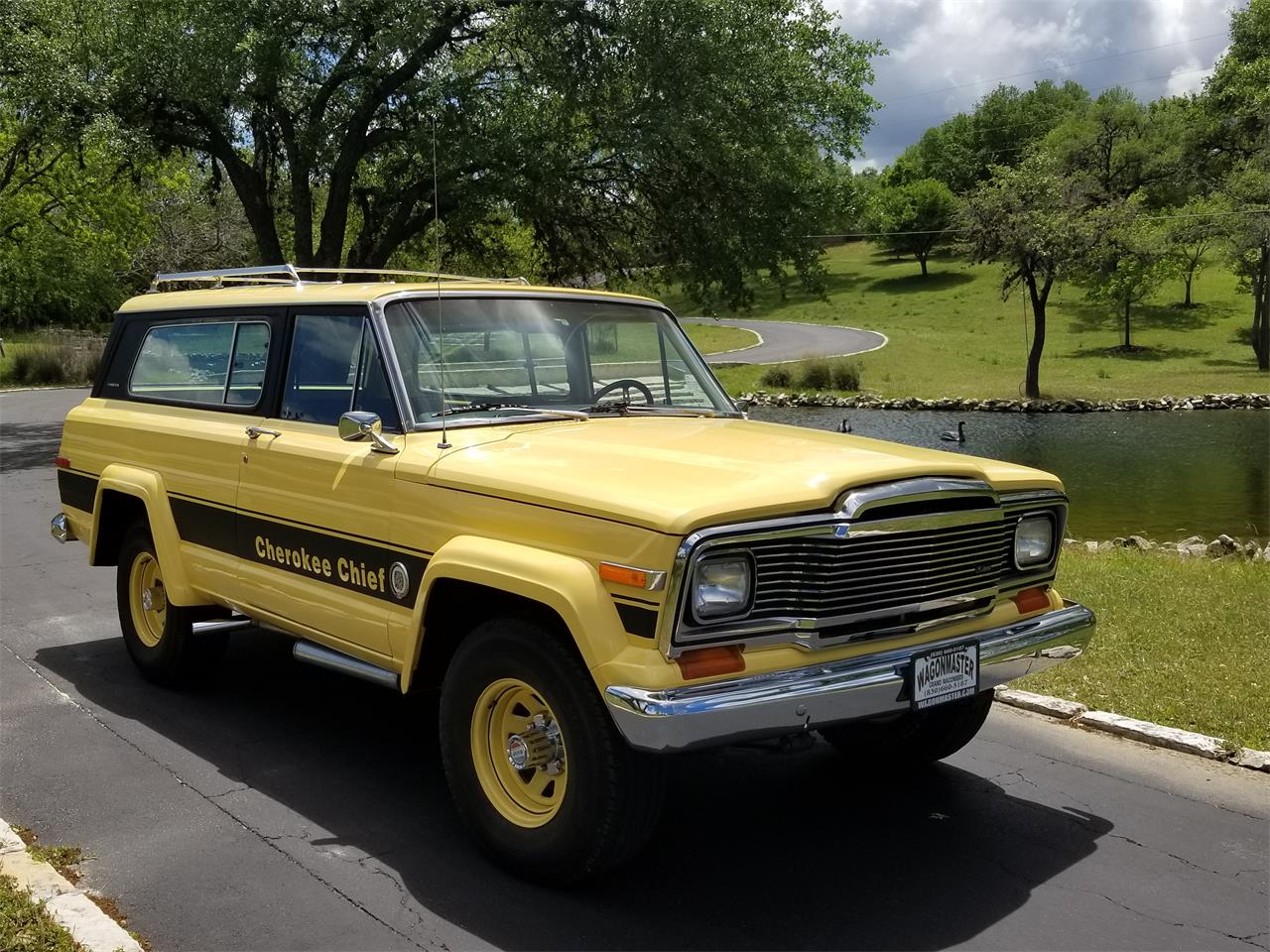 1979 Jeep Cherokee Chief for sale in Kerrville, TX – photo 24