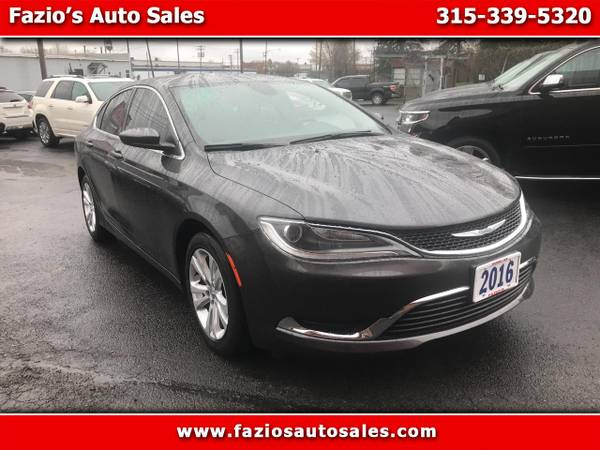 2016 chrysler 200 limited for sale in rome ny classiccarsbay com classiccarsbay
