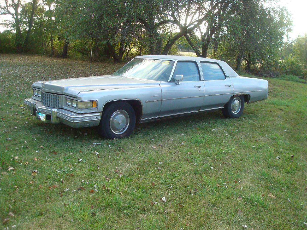 1976 Cadillac Fleetwood Brougham d'Elegance for sale in New London, OH