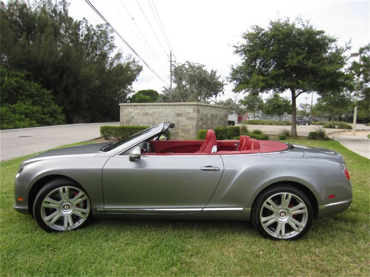 2013 Bentley Continental GTC V8 for sale in Delray Beach, FL – photo 24