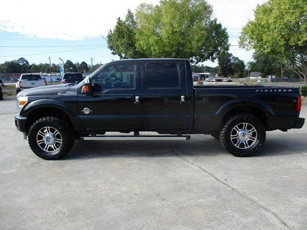 2014 Ford F-250 F250 F 250 Super Duty Platinum 4x4 4dr Crew Cab 6.8... for sale in Jackson, GA – photo 2