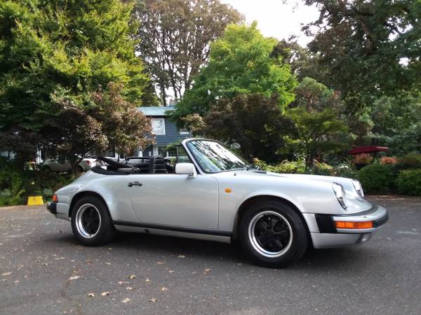 1984 Porsche 911 Carrera Cabriolet for sale in Portland, CA – photo 20