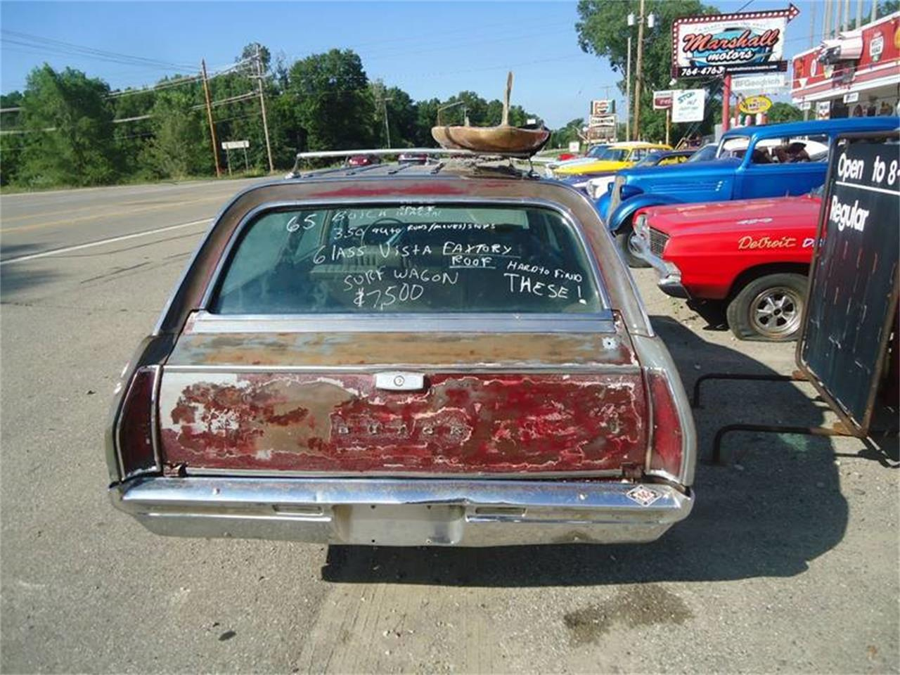 1965 sport wagon glass roof buick for sale in Jackson, MI – photo 14