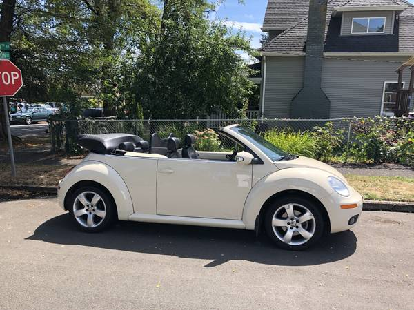2006 VW Bug Convertible Volkswagen Beetle for sale in Fairview, OR – photo 16