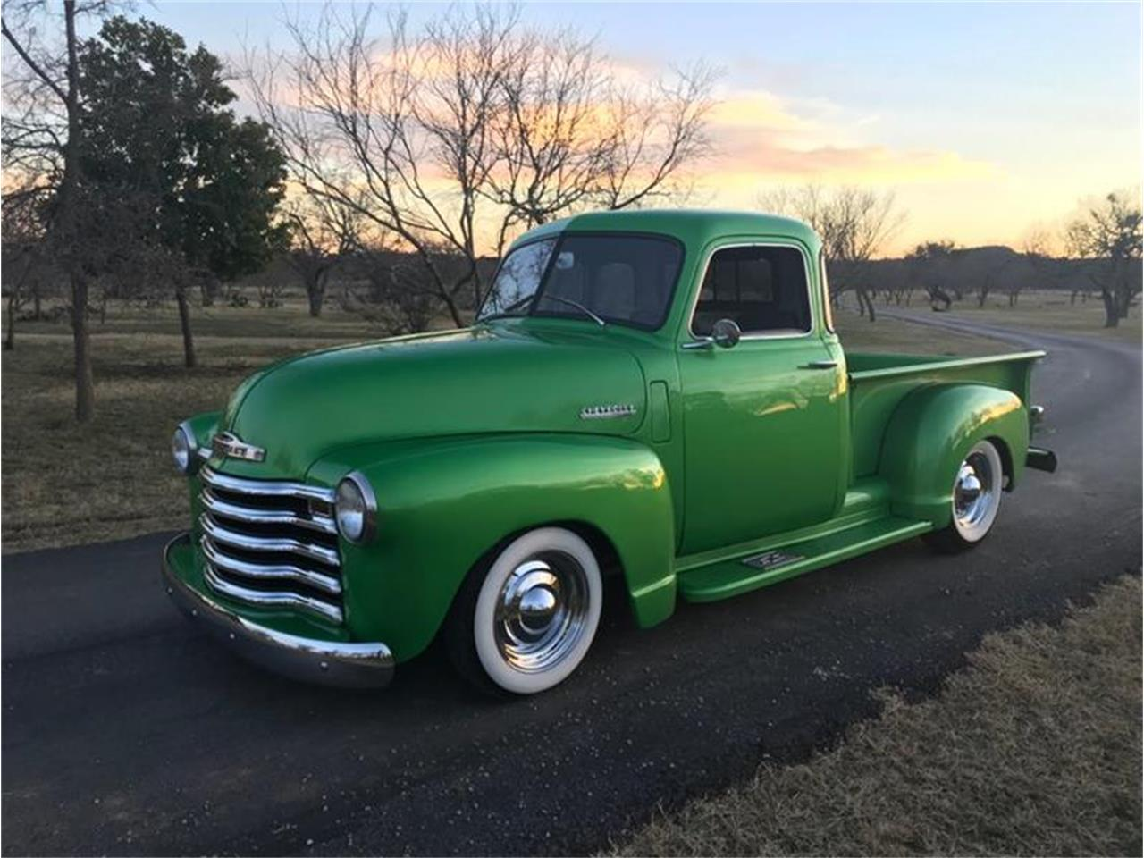 1950 Chevrolet 3100 For Sale In Fredericksburg Tx