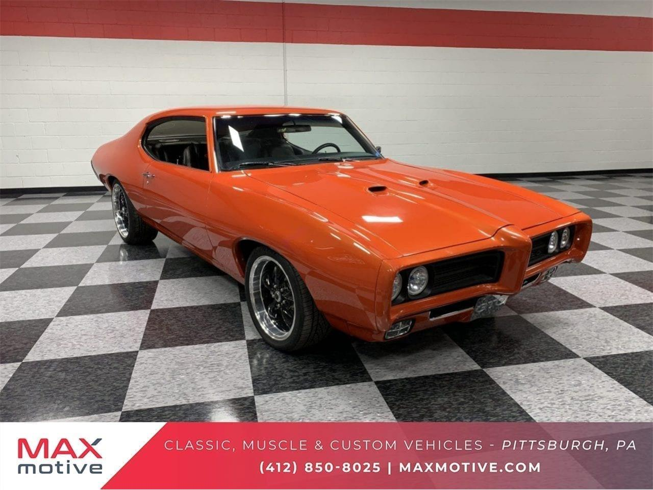 1969 Pontiac Gto For Sale In Pittsburgh Pa Classiccarsbay Com