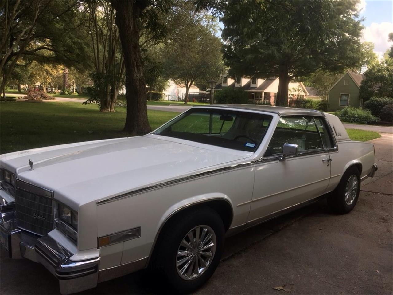 1985 Cadillac Eldorado Biarritz for sale in Houston, TX
