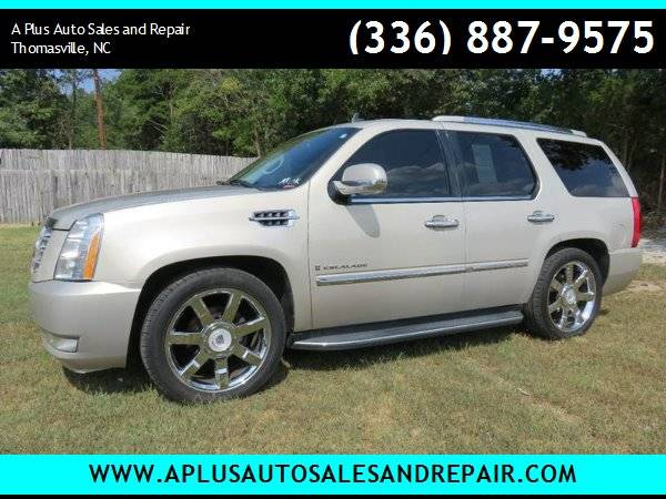 2009 Cadillac Escalade Base AWD 4dr SUV for sale in Thomasville, NC