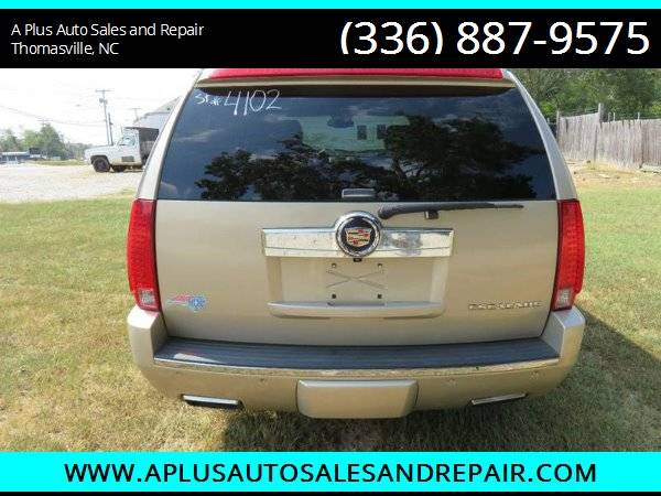 2009 Cadillac Escalade Base AWD 4dr SUV for sale in Thomasville, NC – photo 4
