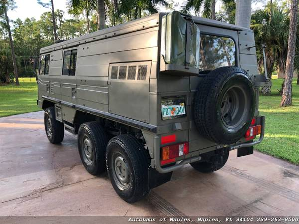 1977 Steyr Puch Pinzgauer 712K 6x6 Hard top! Very rare, Hard to find v for sale in Naples, FL – photo 5