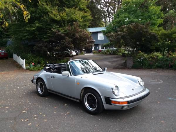 1984 Porsche 911 Carrera Cabriolet for sale in Portland, CA – photo 18