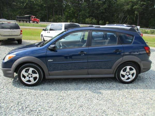 2008 pontiac vibe 4 dr hatch blue 1 8l 4 cyl auto cloth 172k newtires for sale in sanford nc 27330 nc classiccarsbay com classiccarsbay