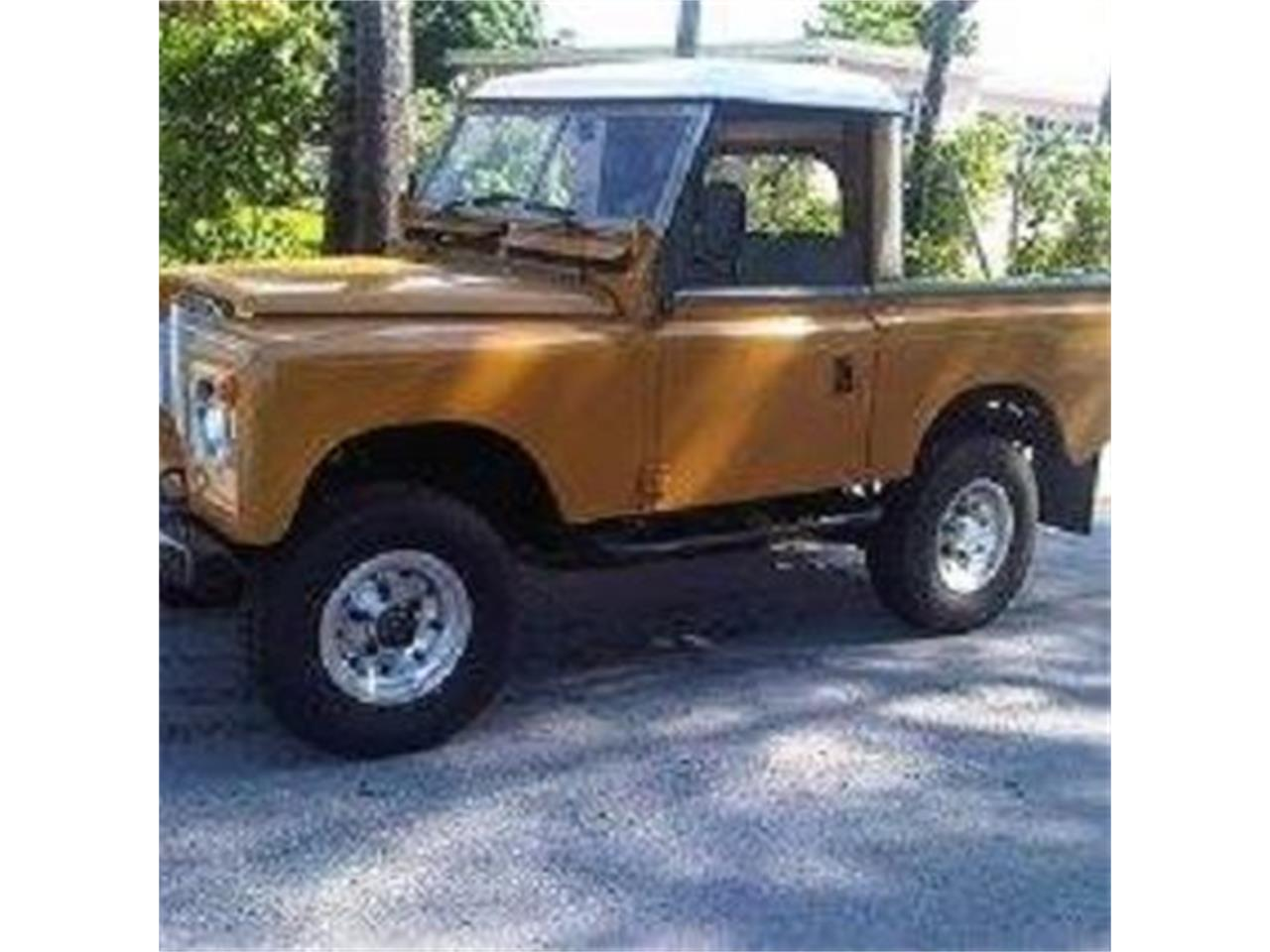 1974 Land Rover Series IIA for sale in Cadillac, MI