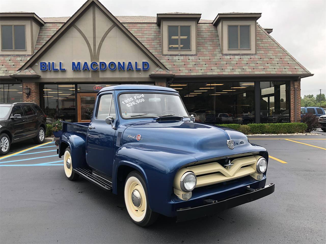 1955 Ford F100 for sale in Saint Clair, MI