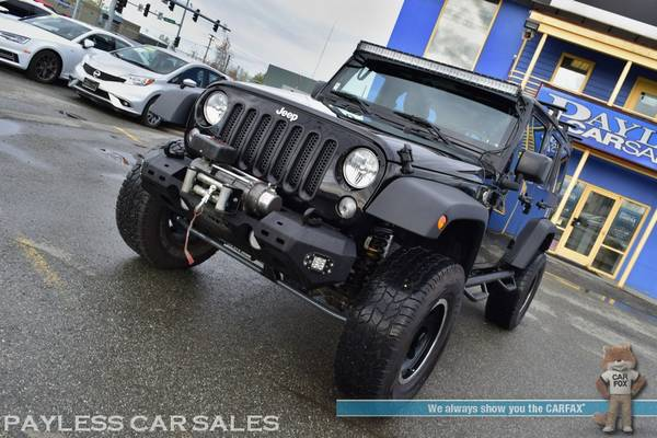 2017 Jeep Wrangler Unlimited Sport / 4X4 / Automatic / Hard Top / Lift for sale in Anchorage, AK – photo 22