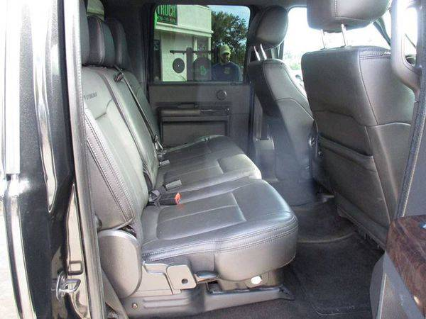 2014 Ford F-250 F250 F 250 Super Duty Platinum 4x4 4dr Crew Cab 6.8... for sale in Jackson, GA – photo 18
