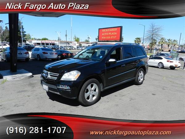 2010 MERCEDES-BENZ GL450 $3800 DOWN $195 PER MONTH(OAC)100%APPROVAL YO for sale in Sacramento , CA