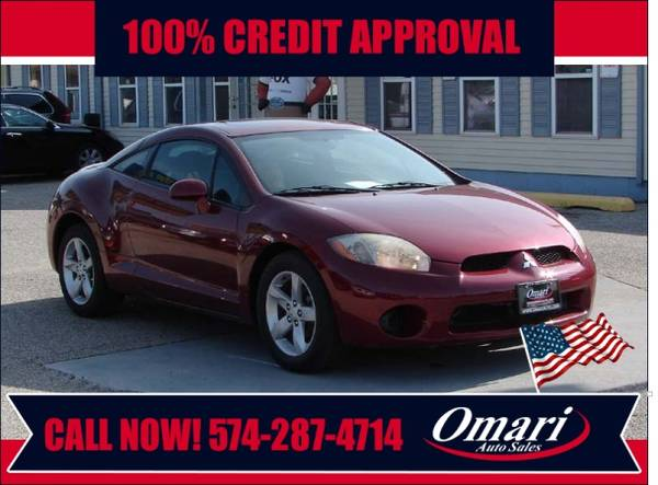 2007 mitsubishi eclipse easy financing for sale in south bend in classiccarsbay com classiccarsbay