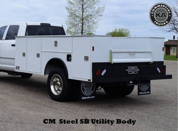 2018 Ford F550 XL - 9ft Flatbed - 4WD 6.7L V8 Utility Dump Box Truck... for sale in Dassel, MT – photo 23