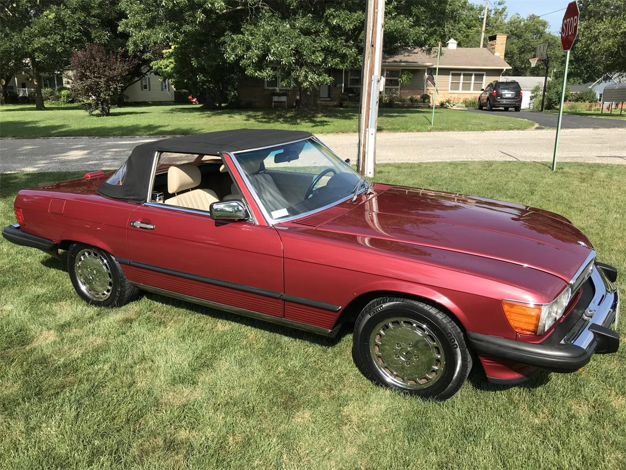 1989 Mercedes-Benz 560SL for sale in Georgetown, IL ...