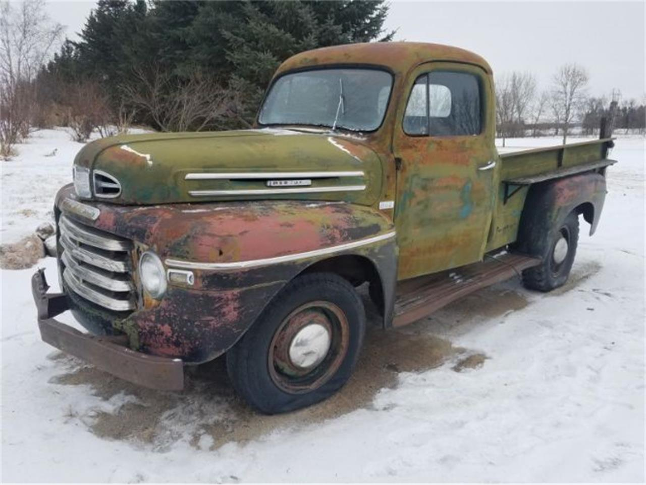 1949 Mercury Pickup for sale in Cadillac, MI