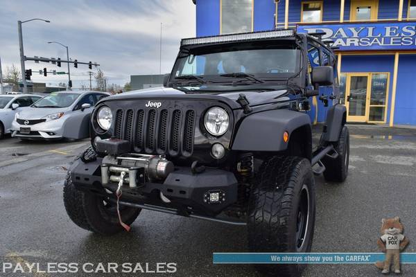 2017 Jeep Wrangler Unlimited Sport / 4X4 / Automatic / Hard Top / Lift for sale in Anchorage, AK