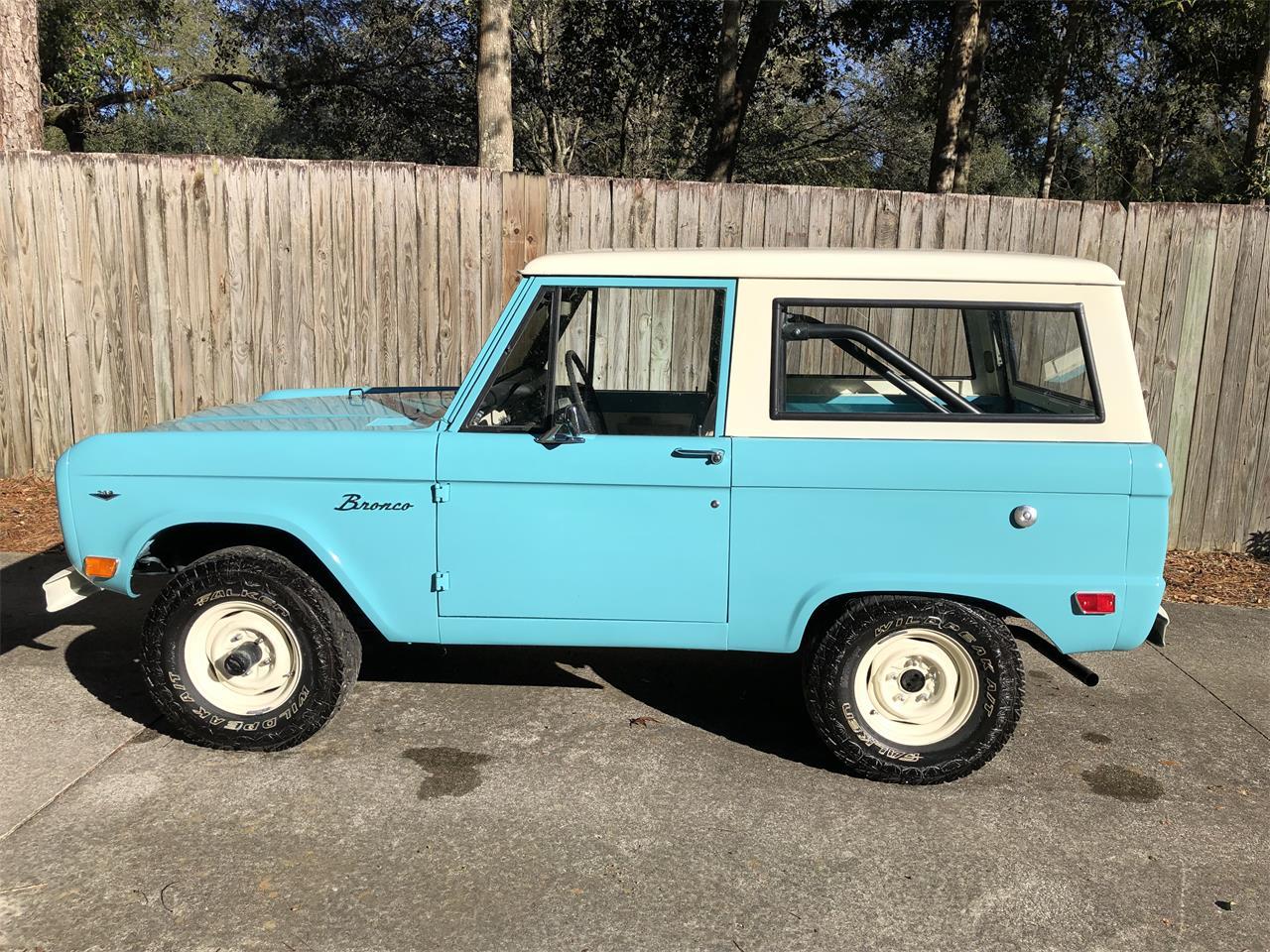 1968 Ford Bronco For Sale In Jacksonville Fl Classiccarsbay Com