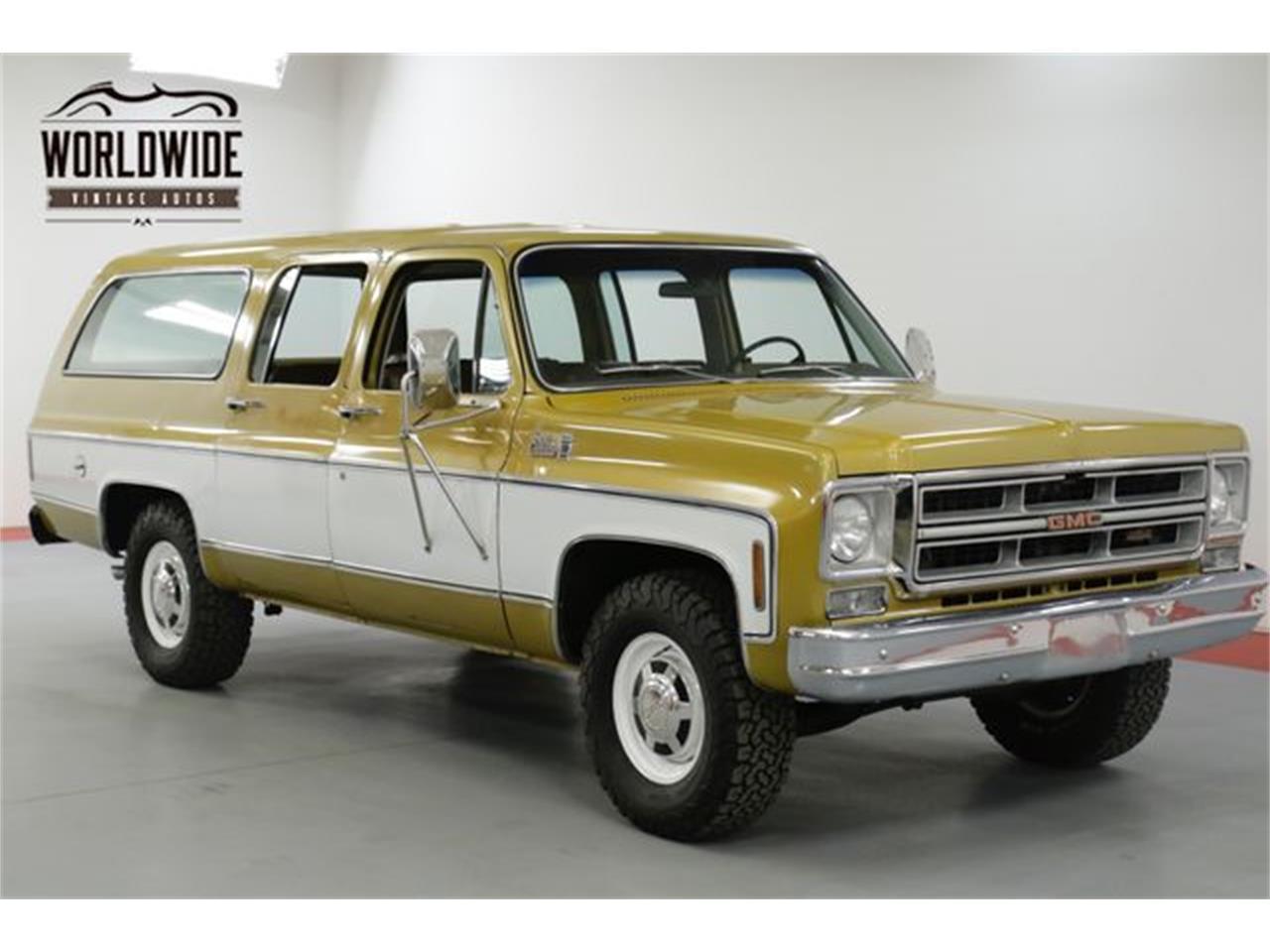 1976 Gmc Suburban For Sale In Denver Co Classiccarsbay Com