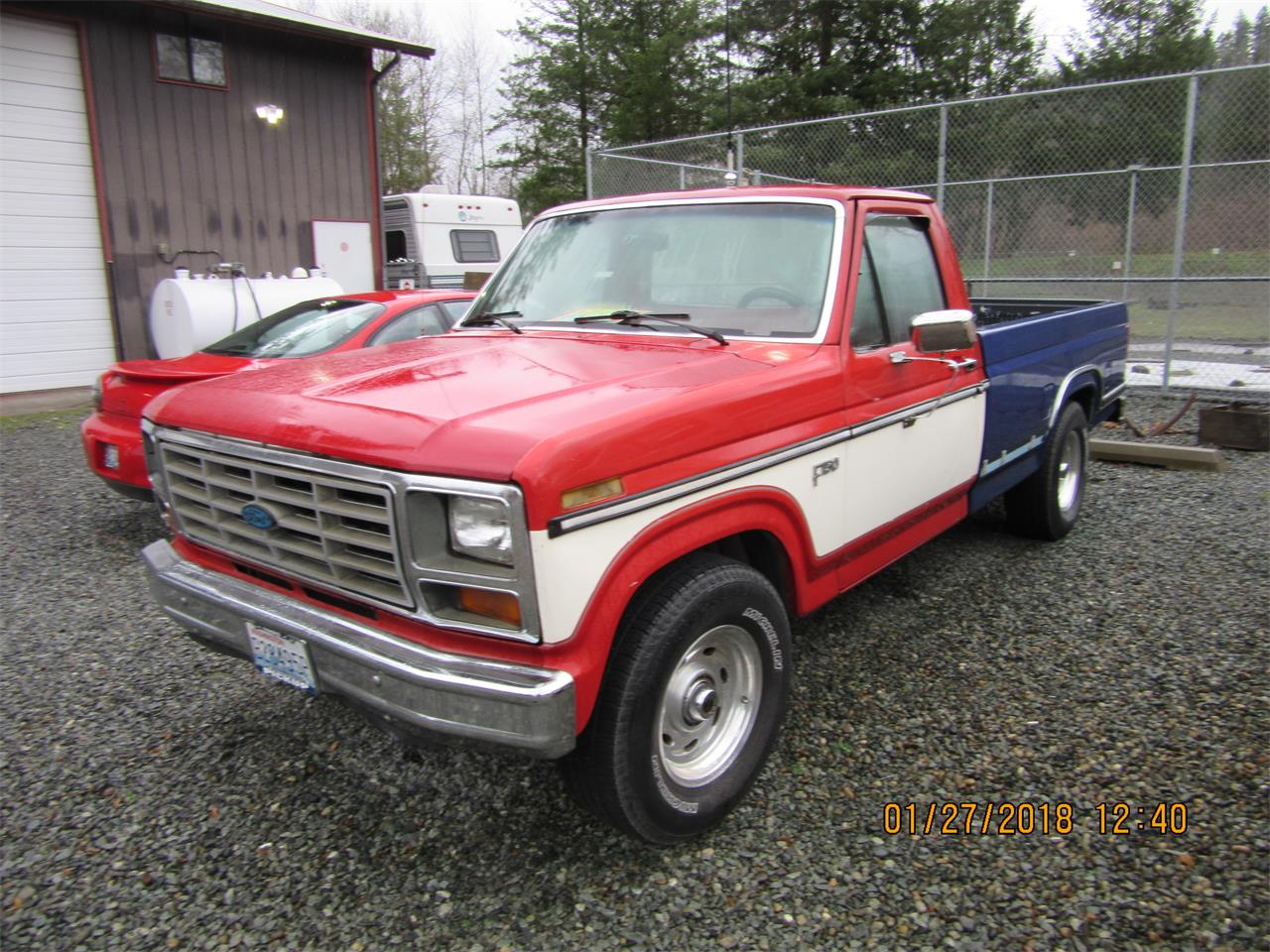 1985 Ford F150 for sale in PUYALLUP, WA