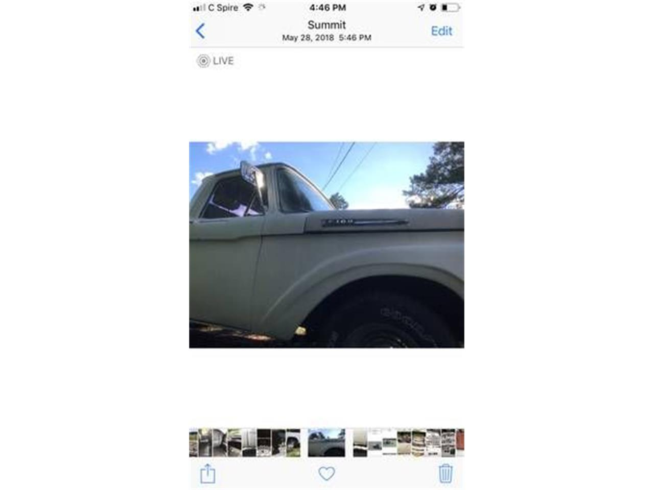 1962 Ford F100 for sale in Cadillac, MI – photo 13