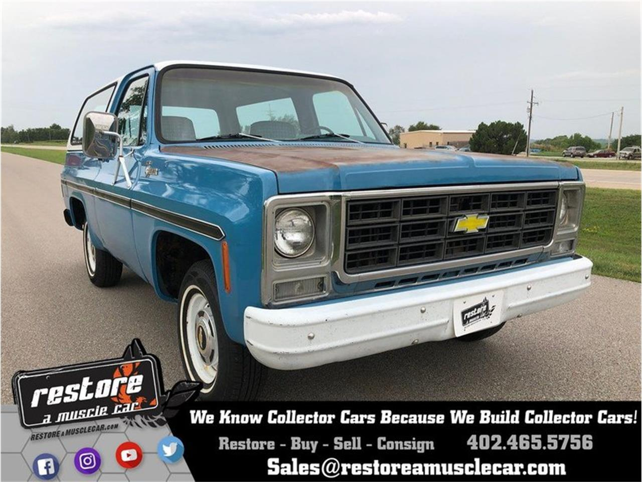 1979 Chevrolet Blazer for sale in Lincoln, NE