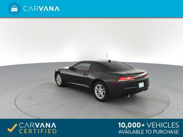 2014 Chevy Chevrolet Camaro LS Coupe 2D coupe Dk. Gray - FINANCE for sale in Eaton Rapids, MI – photo 8