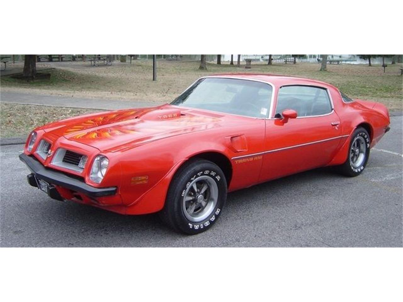 1975 Pontiac Firebird Trans Am For Sale In Hendersonville Tn Classiccarsbay Com