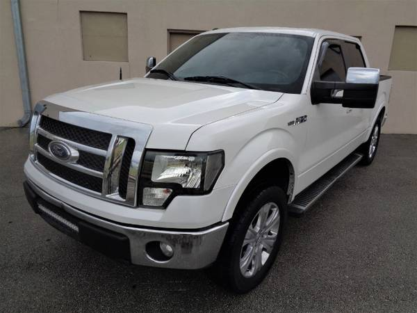"2012 Ford F-150 2WD SuperCrew 145"" Lariat - cars & trucks - by... for sale in Miami, FL – photo 2"