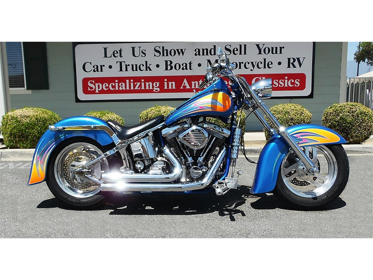 2000 Lifecycle Custom Red Horse Softail for sale in Redlands, CA – photo 4