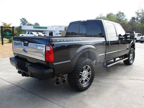 2014 Ford F-250 F250 F 250 Super Duty Platinum 4x4 4dr Crew Cab 6.8... for sale in Jackson, GA – photo 6