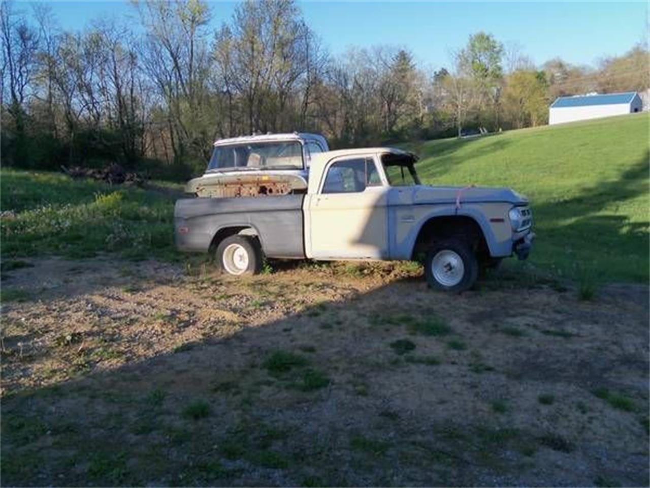 1970 Dodge Pickup For Sale In Cadillac Mi Classiccarsbay Com