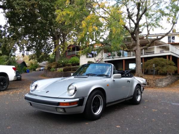 1984 Porsche 911 Carrera Cabriolet for sale in Portland, CA – photo 19
