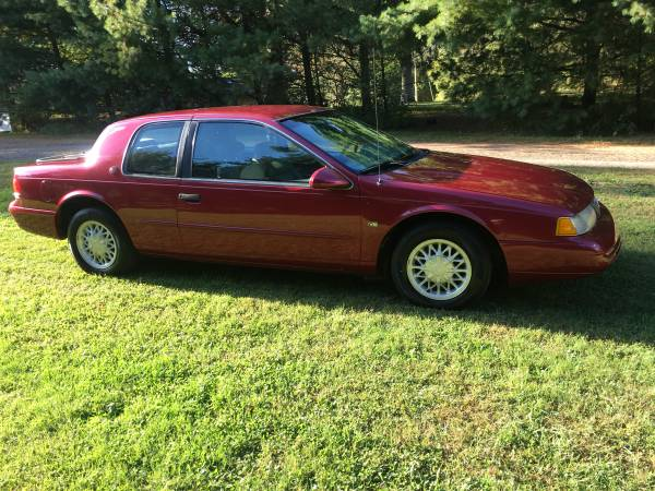 1994 mercury cougar xr7 for sale in lexington ohio oh classiccarsbay com 1994 mercury cougar xr7 for sale in